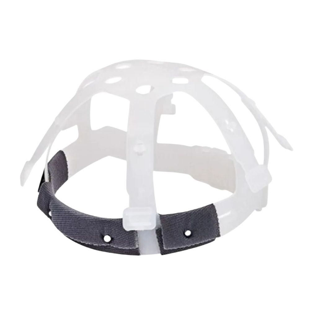 Capacete de Segurança com Carneira Plástica Branco Plastcor CA 31469  - Casa do Roadie