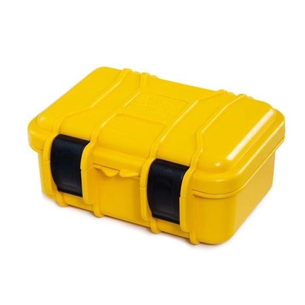Case Rígido Patola MP-008 Amarelo com Espuma
