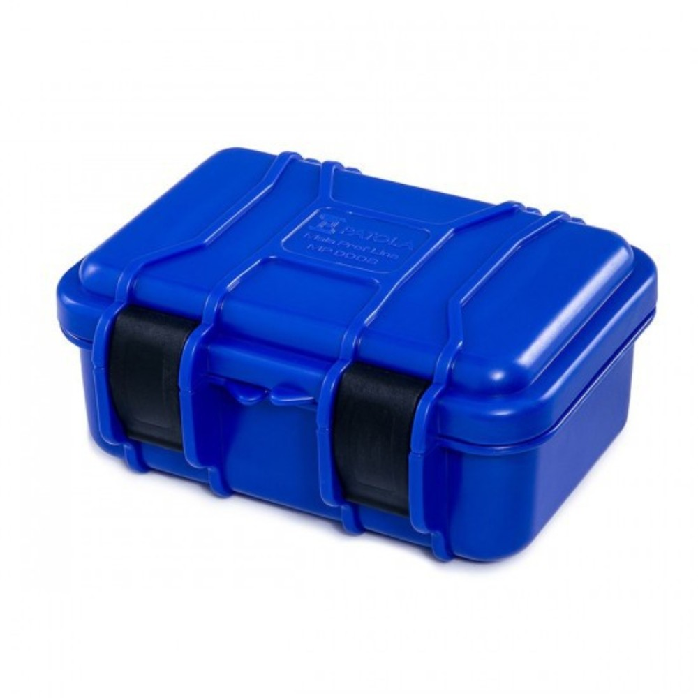 Case rígido Patola MP-008 Azul com espuma  - Casa do Roadie