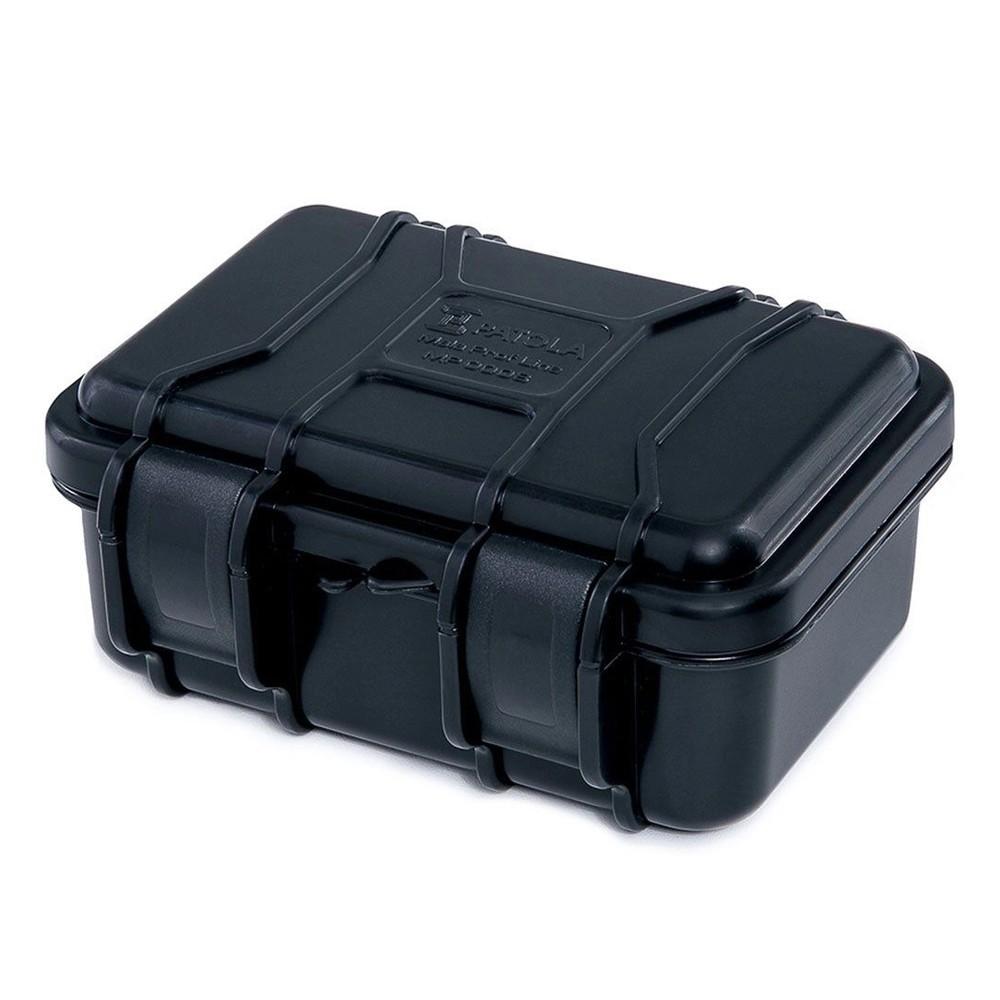 Case Rígido Patola MP-008 Preto com Espuma