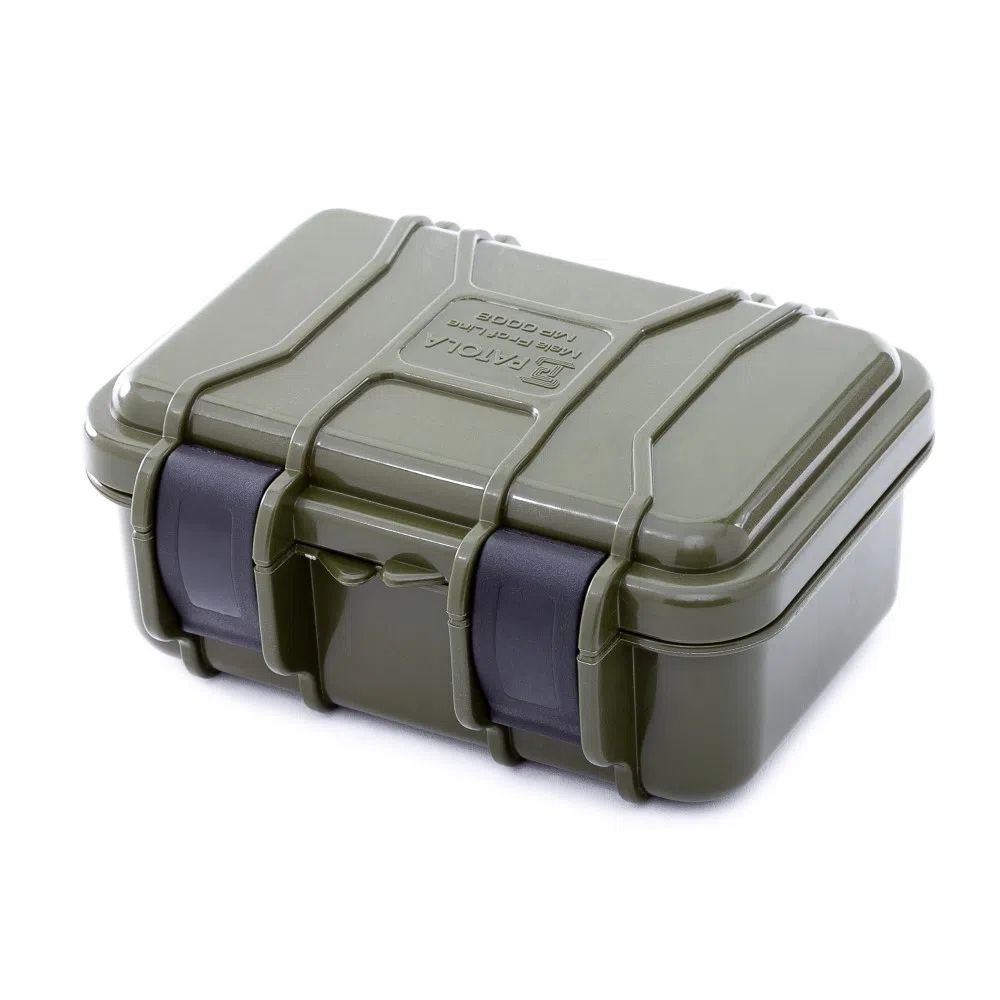 Case rígido Patola MP-008 Verde Militar  - Casa do Roadie