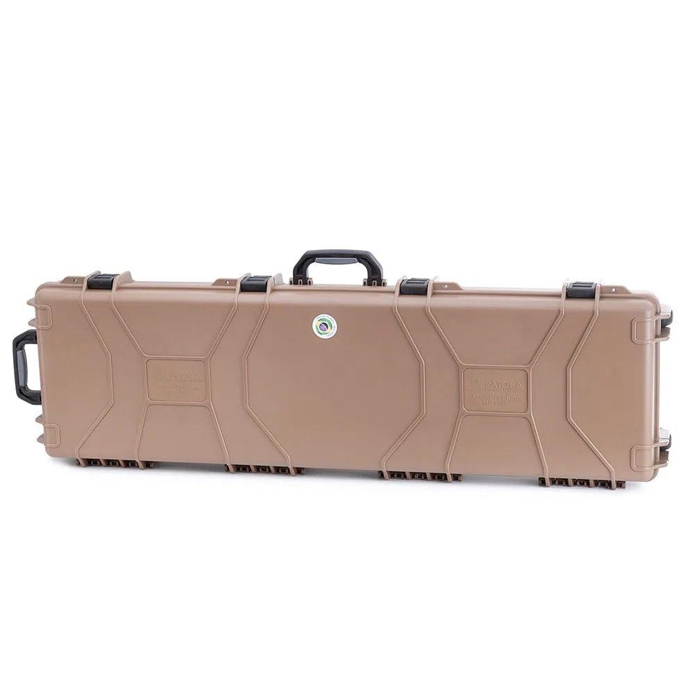 Case rígido Patola MP-1310 com rodas marrom