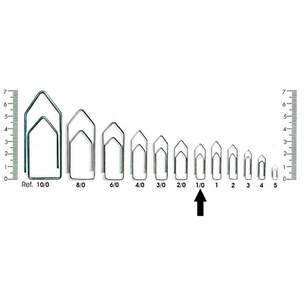 Clips para Papéis Nº00 - 810 Unidades