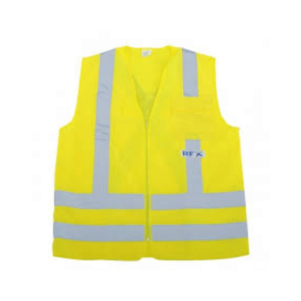 Colete de Segurança Refletivo com 1 Bolso Amarelo XG