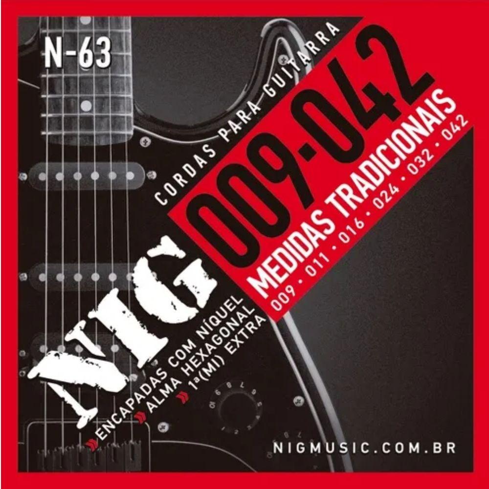 Corda para guitarra NIG 0.09