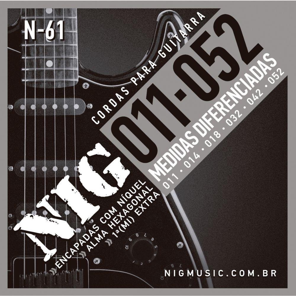 Corda para guitarra NIG 0.11