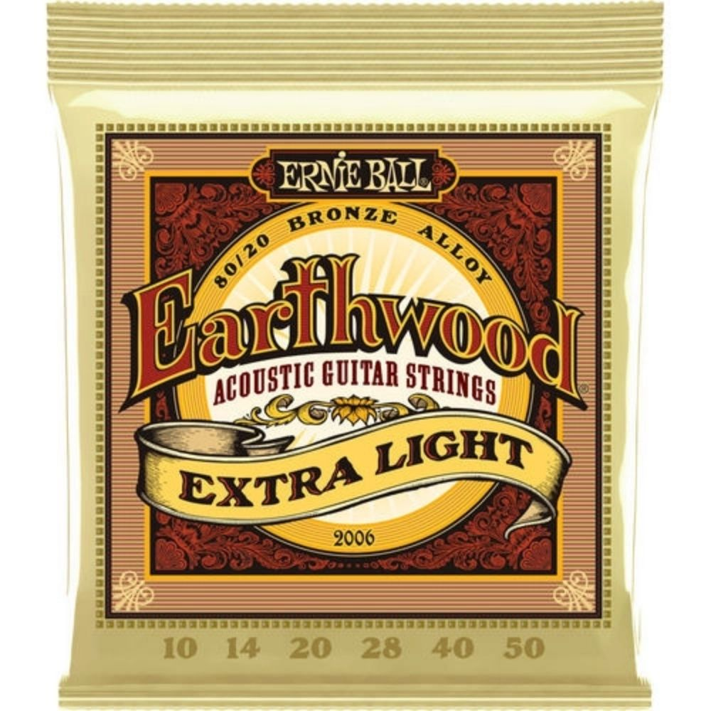 Corda para violão de aço Ernie Ball Earthwood 0.10 bronze