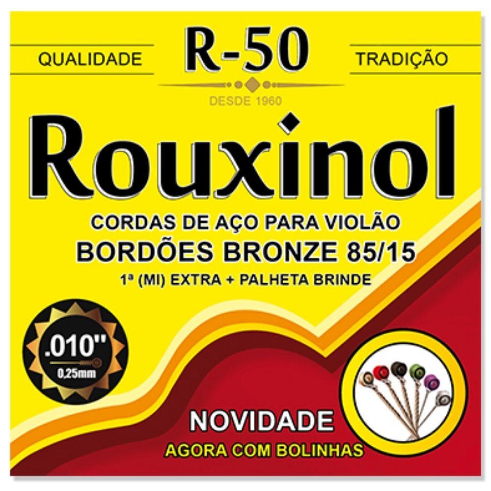 Corda para violão de aço rouxinol bronze R50