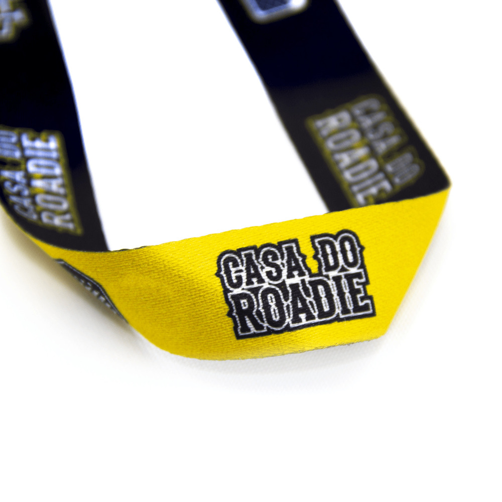 Cordão Casa do Roadie - Amarelo  - Casa do Roadie
