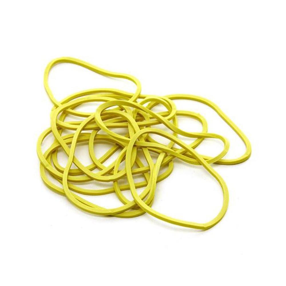 Elástico de Látex Especial Amarelo Para Dinheiro 1kg