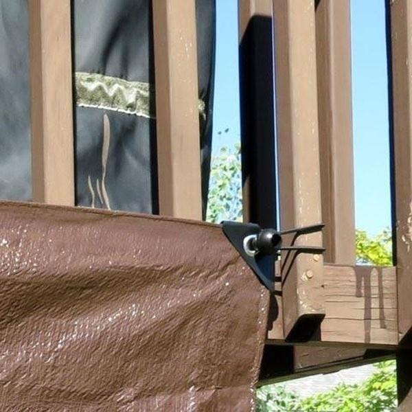 Elástico Multiuso Organizador de Cabos Bungee Ball 15cm  - Casa do Roadie