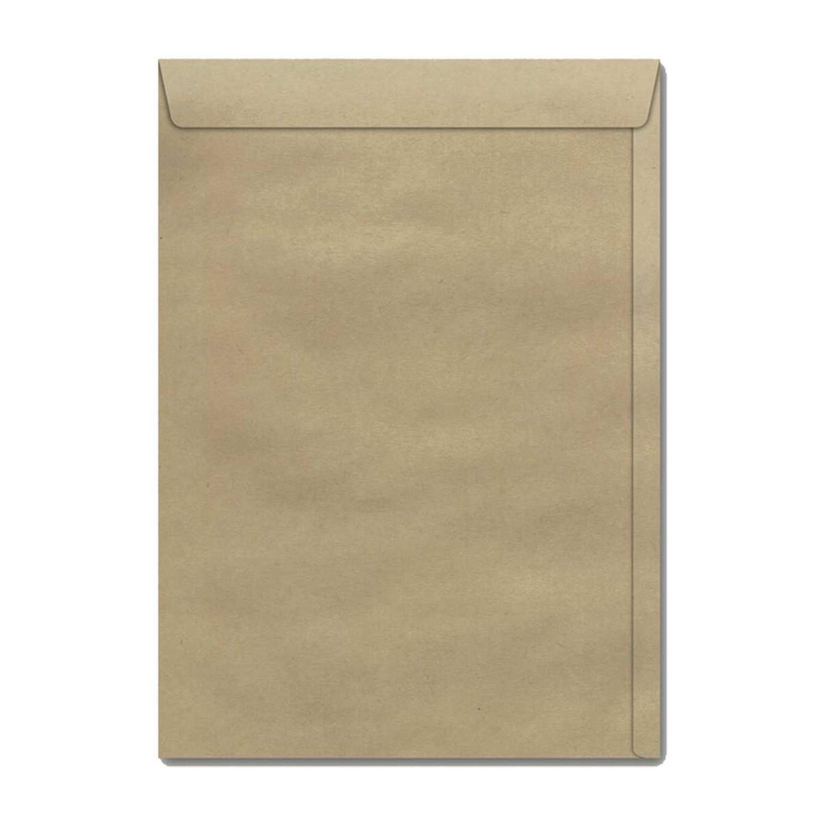 Envelope de papel para Folhas A4 Kraft  - Casa do Roadie