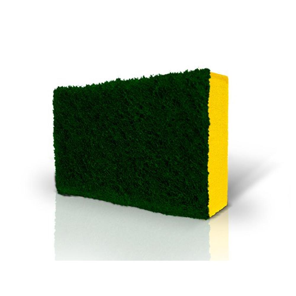 Esponja de cozinha Multiuso Bettanin - Amarela e Verde  - Casa do Roadie