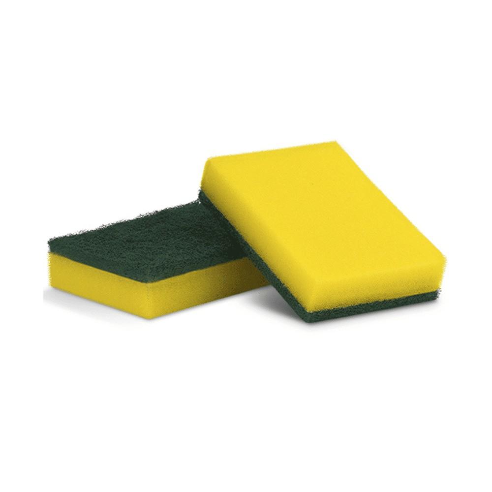 Esponja de cozinha Multiuso Super Wash - Amarela e Verde