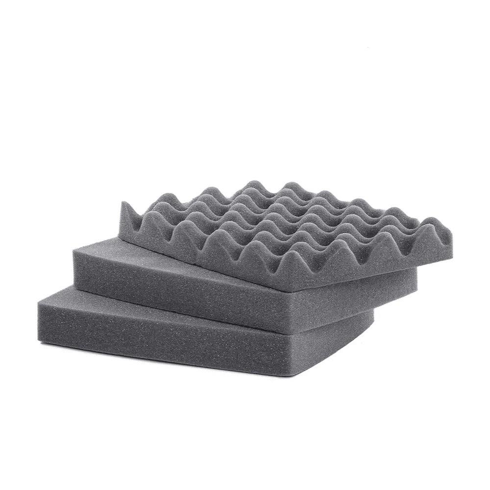 Espuma Micro Serrilhada para Case MP-0025 Cinza
