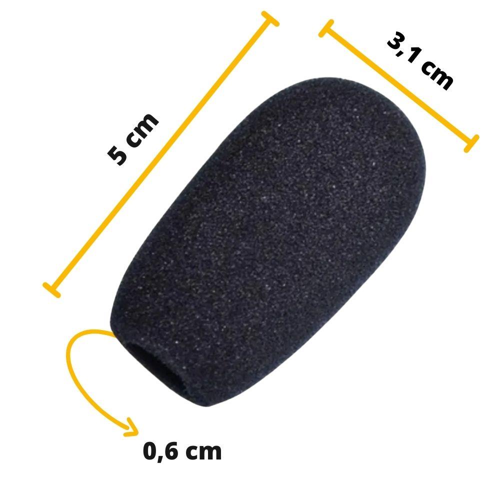 Espuma para Microfone Pulpito ou Gooseneck AK011  - Casa do Roadie