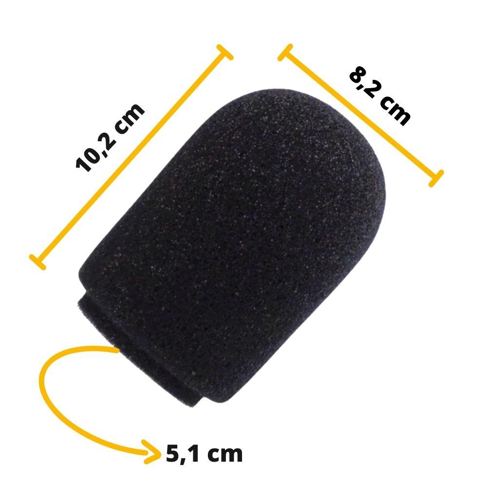 Espuma para microfone Shure SM7B e condensadores AK060