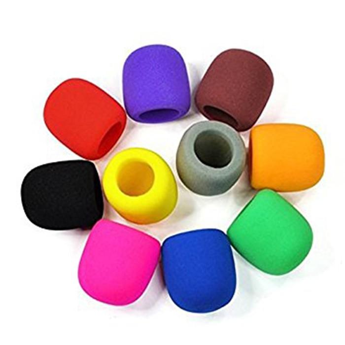Espuma para Microfones Coloridas