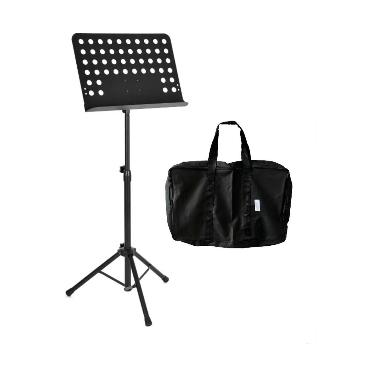 Estante de Partitura em Aço para Maestro com Bag  - Casa do Roadie