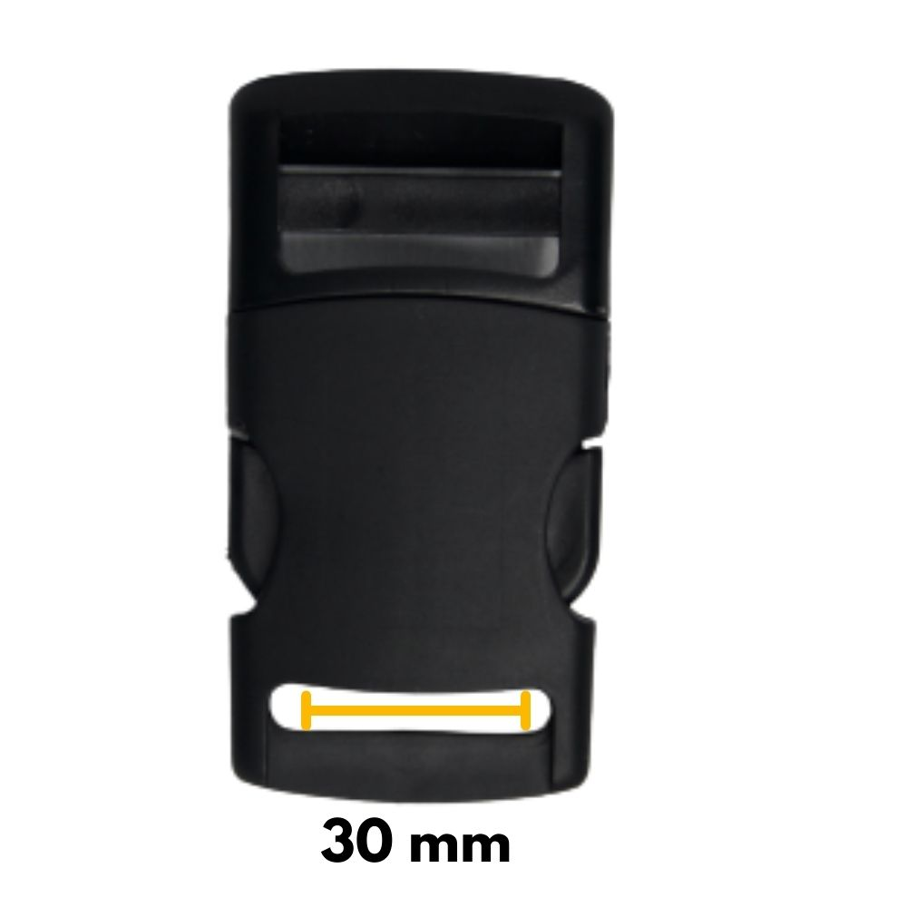 Fecho De Engate Rápido 30mm Nylon  - Casa do Roadie