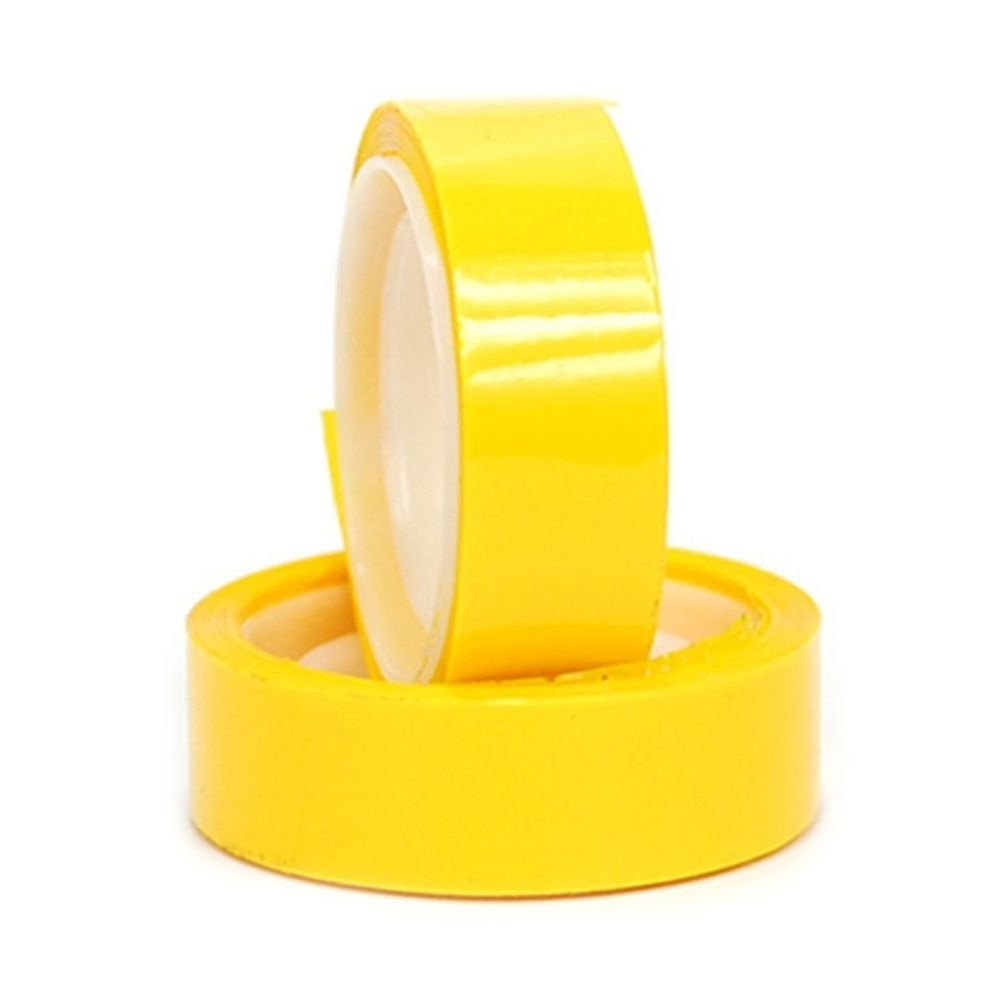 Fita adesiva colorida Adere 12mm x 10m Amarela  - Casa do Roadie