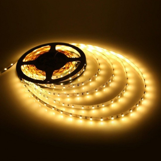 Fita de LED Foyu 12v 5m Branco Quente com Fonte