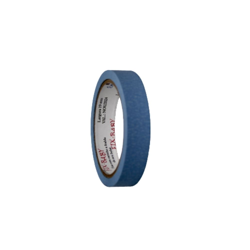 Fita de Papel Crepe 19mm x 20m Azul claro