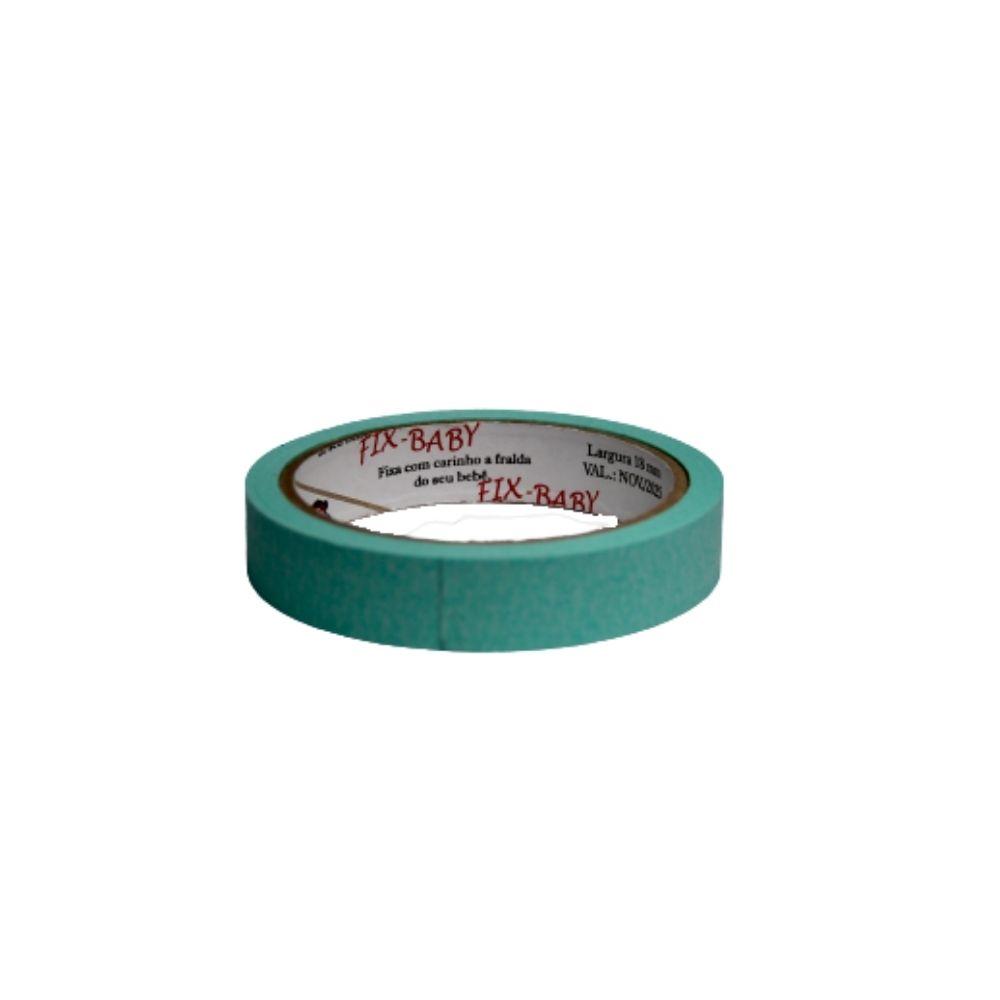 Fita de Papel Crepe 19mm x 20m Verde claro  - Casa do Roadie