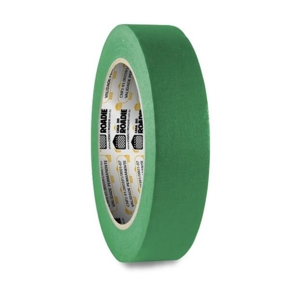 Fita de Papel Crepe Colorida Casa do Roadie 24mm X 40m Verde