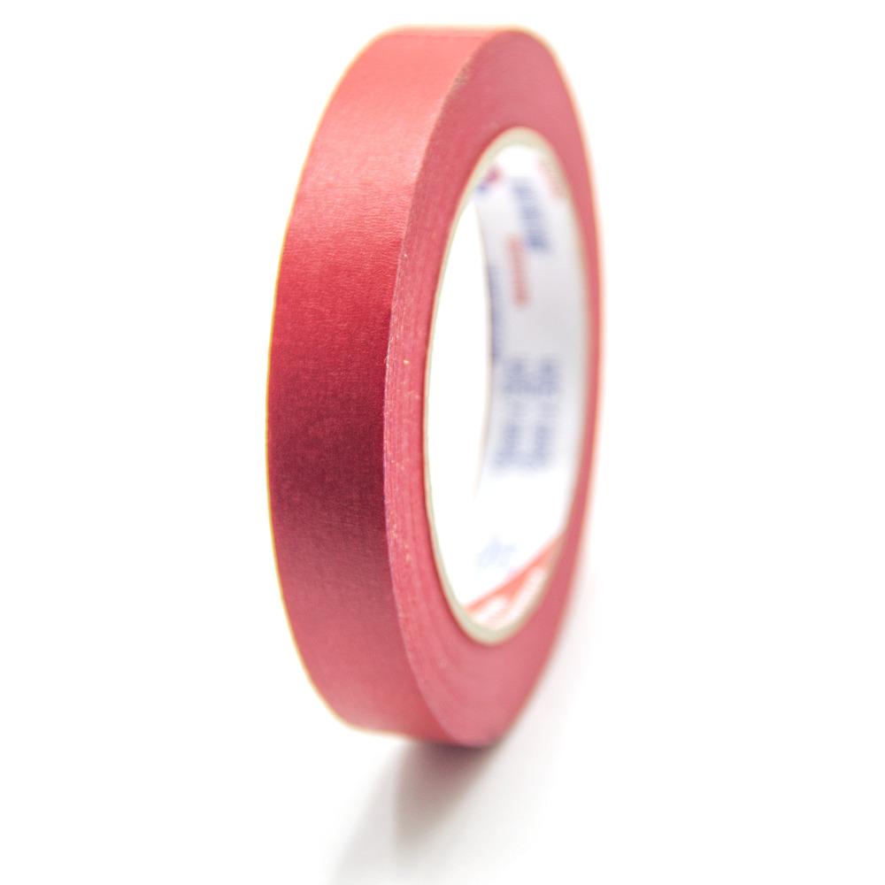 Fita de Papel Crepe Colorida Eurocel 18mm X 50m Vermelha