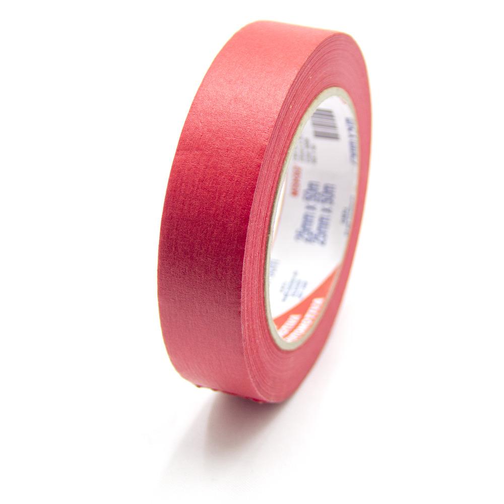 Fita de Papel Crepe Colorida Eurocel 25mm X 50m Vermelha
