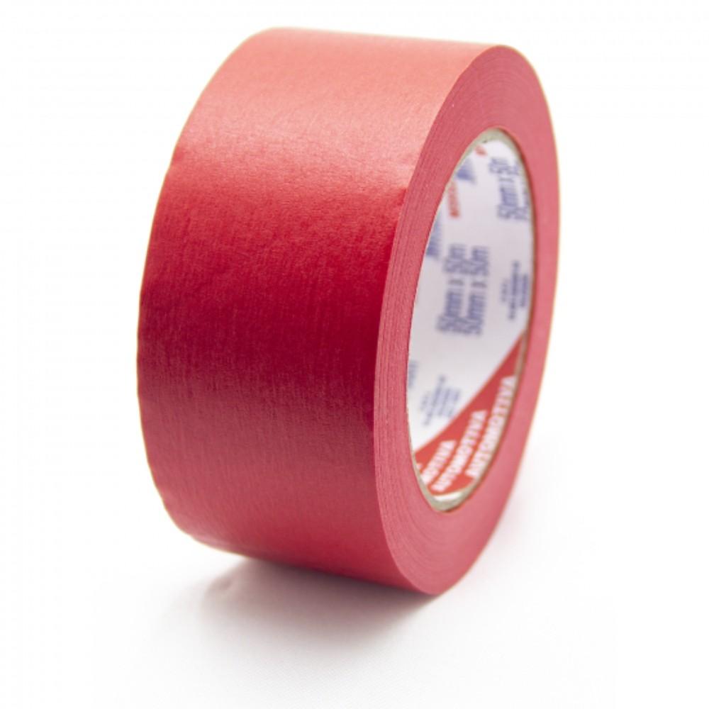 Fita de Papel Crepe Colorida Eurocel 50mm X 50m Vermelha
