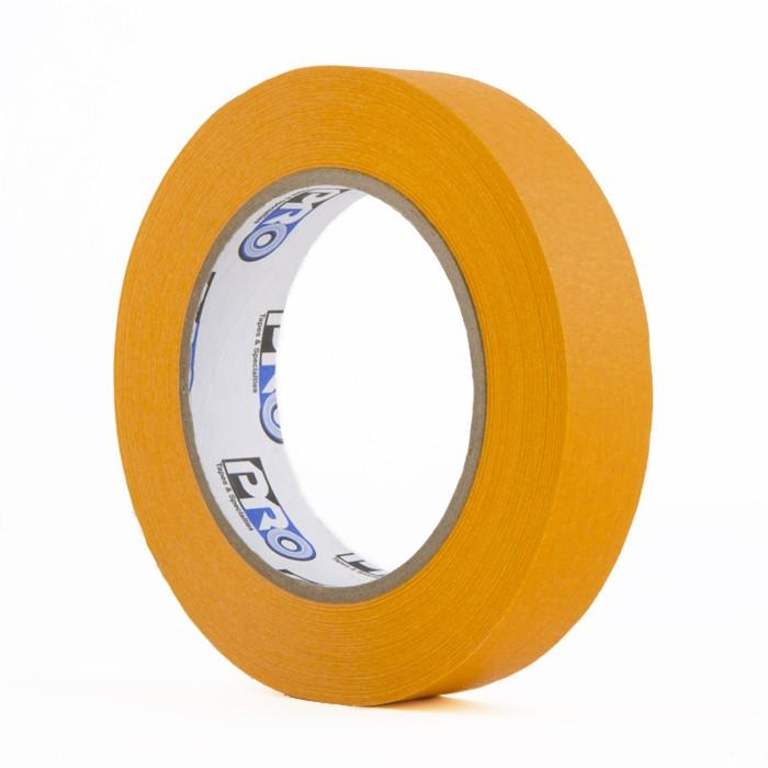Fita de Papel Crepe Colorida Pro Tapes 24mm X 50m Laranja  - Casa do Roadie