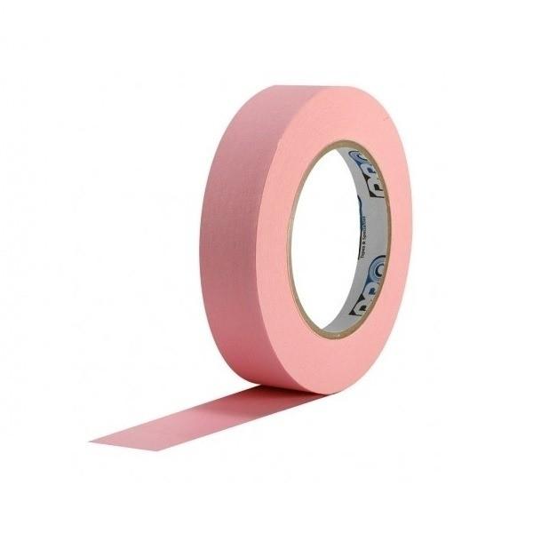 Fita de Papel Crepe Colorida Pro Tapes 24mm X 50m Rosa