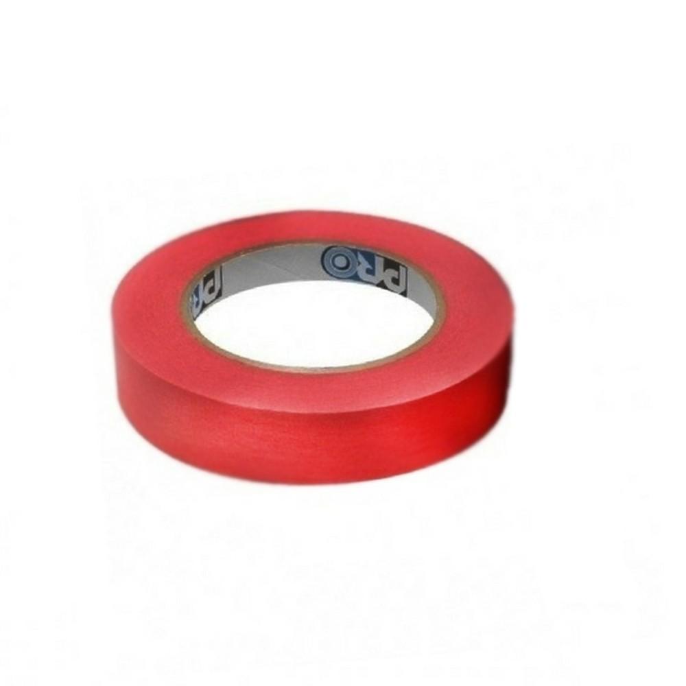Fita de Papel Crepe Colorida Pro Tapes 24mm X 50m Vermelha  - Casa do Roadie
