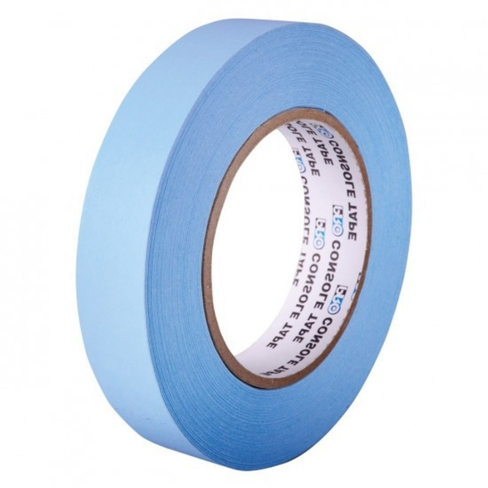 Fita de Papel para Console Artist Tape Pro Tapes 13mm X 50m Azul  - Casa do Roadie