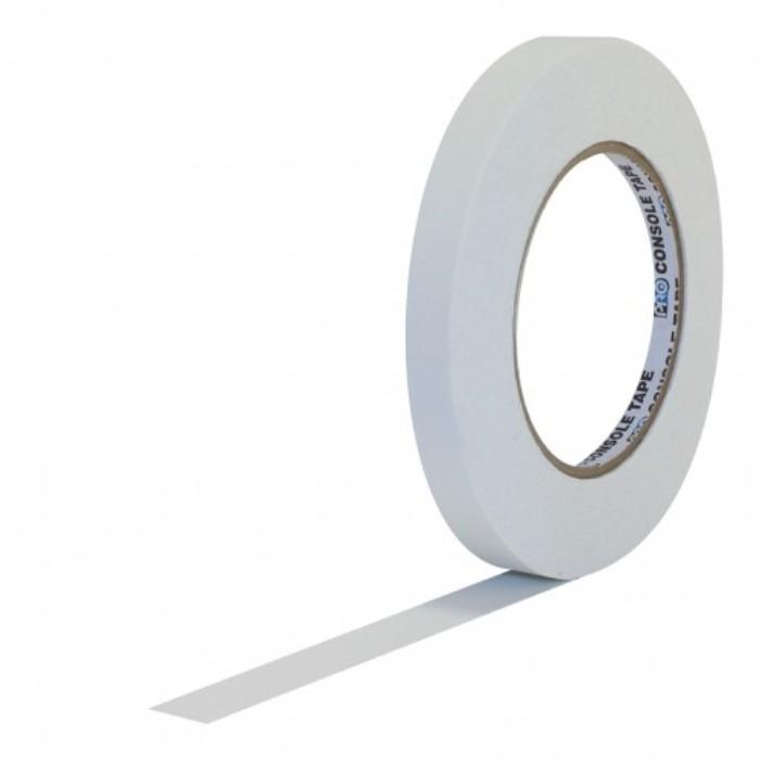 Fita de Papel para Console Artist Tape Pro Tapes 13mm X 50m Branca