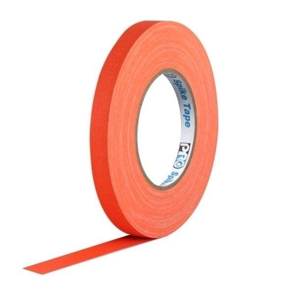 Fita de Papel para Console Artist Tape Pro Tapes 13mm X 50m Laranja Fluorescente