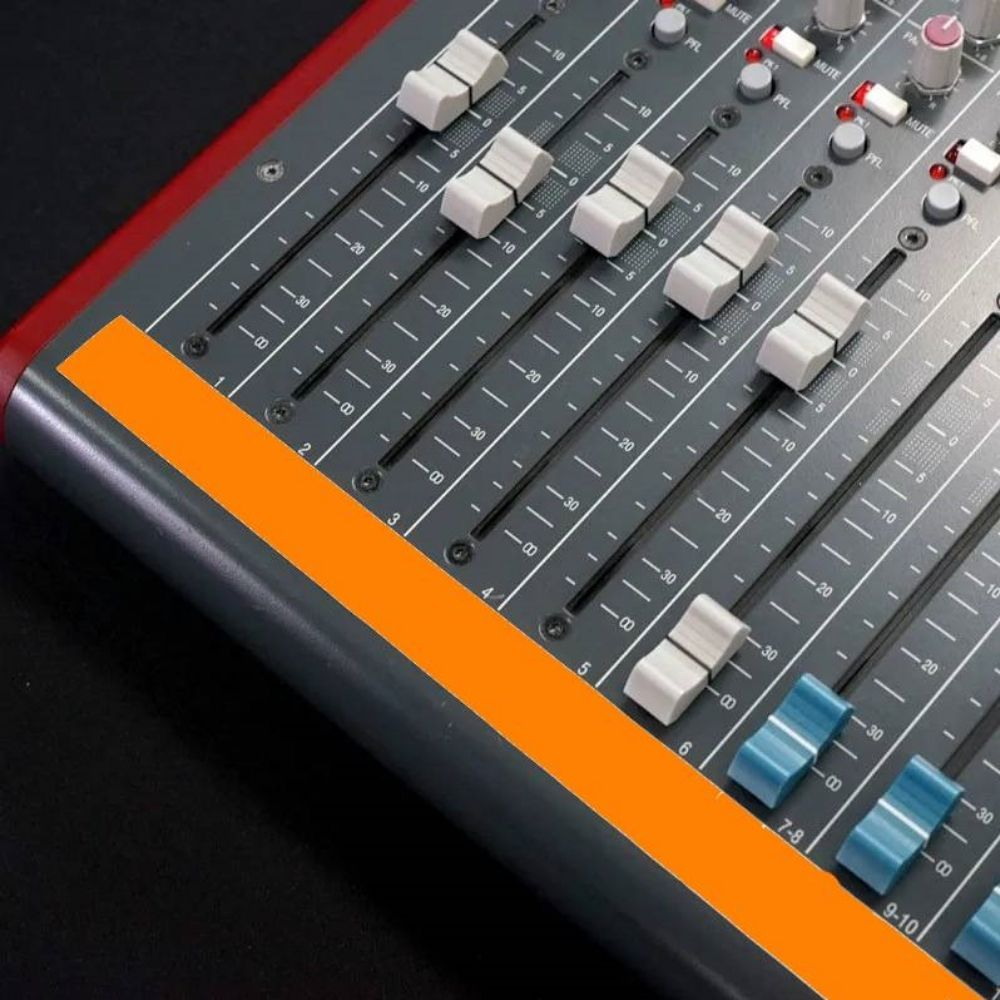 Fita de Papel para Console Artist Tape Pro Tapes 13mm X 50m Laranja Fluorescente  - Casa do Roadie