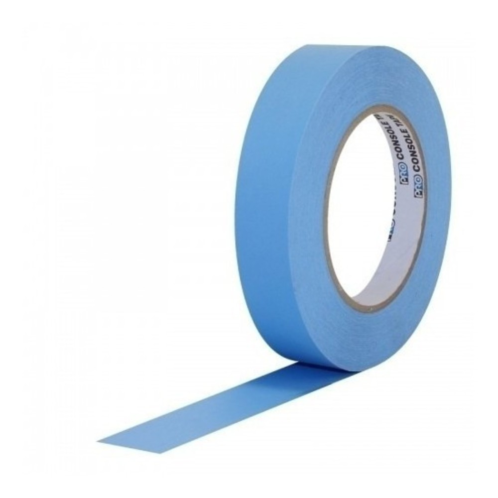 Fita de Papel para Console Artist Tape Pro Tapes 24mm X 50m Azul
