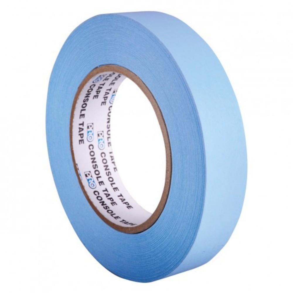 Fita de Papel para Console Artist Tape Pro Tapes 24mm X 50m Azul  - Casa do Roadie