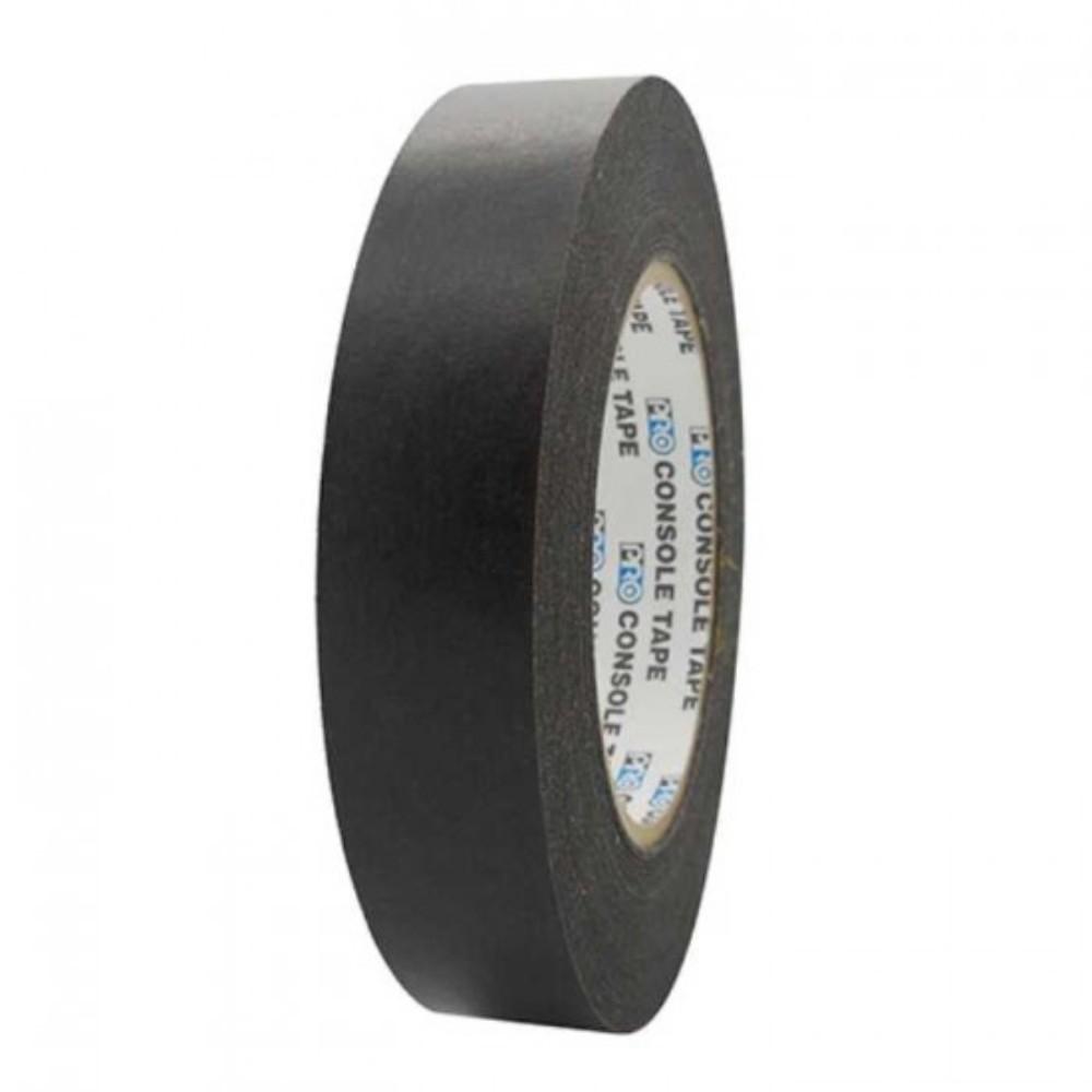 Fita de Papel para Console Artist Tape Pro Tapes 24mm X 50m Preta