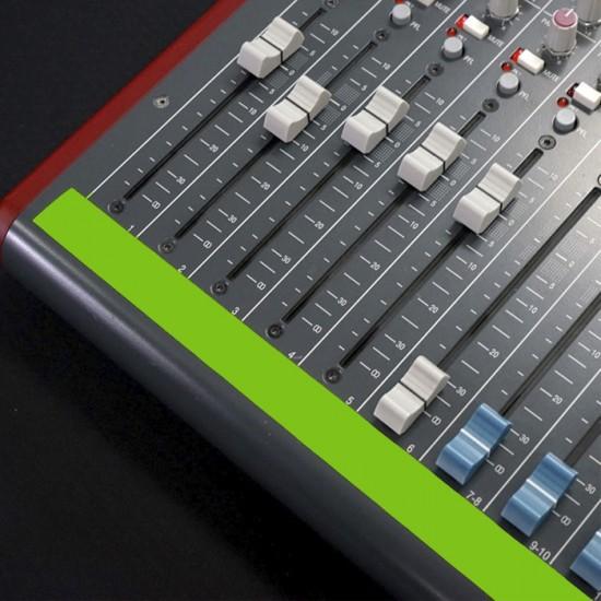 Fita de Papel para Console Artist Tape Pro Tapes 24mm X 50m Verde Fluor  - Casa do Roadie