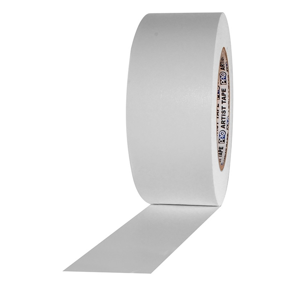 Fita de Papel para Console Artist Tape Pro Tapes 48mm X 50m Branca  - Casa do Roadie