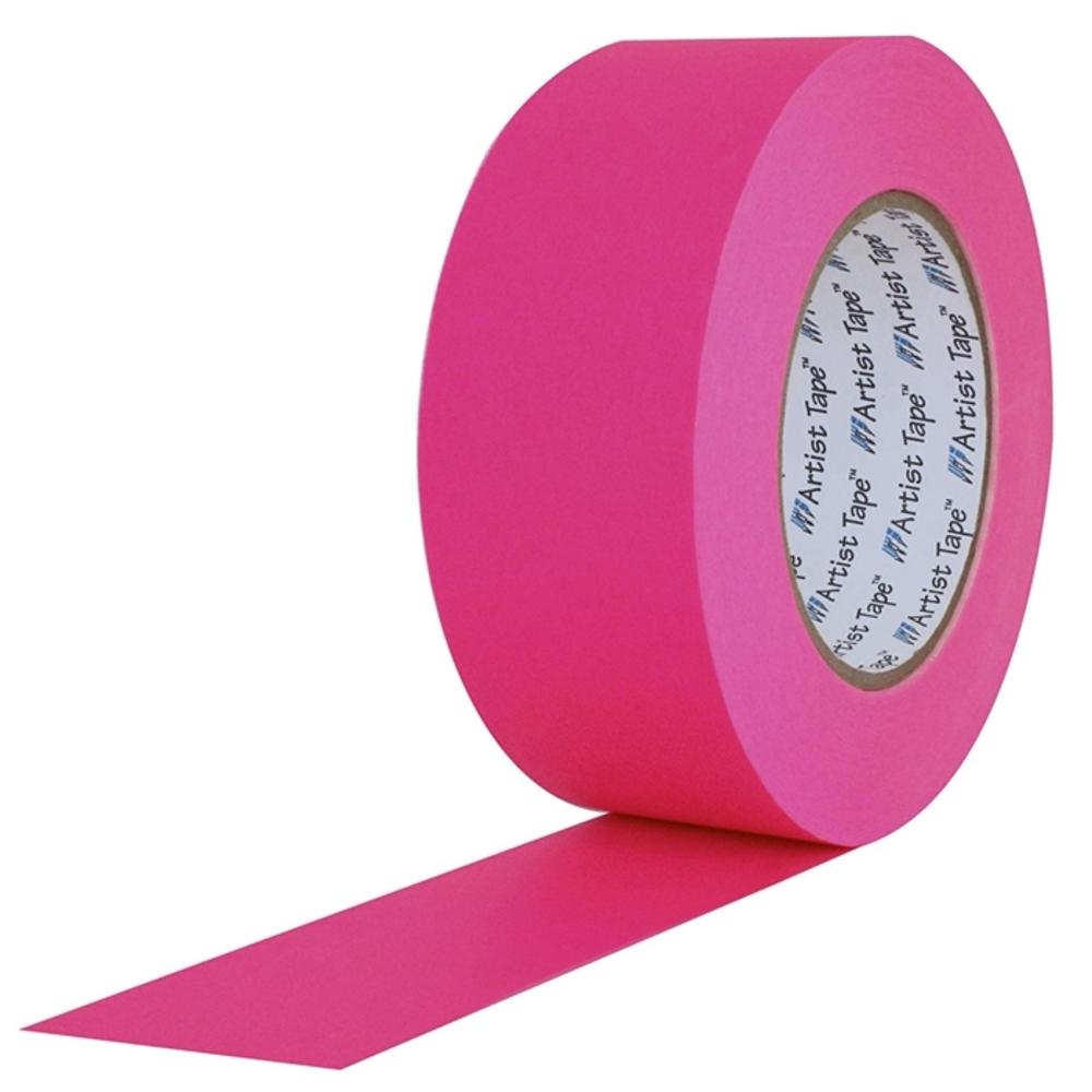 Fita de Papel para Console Artist Tape Pro Tapes 48mm X 50m Rosa Fluor  - Casa do Roadie
