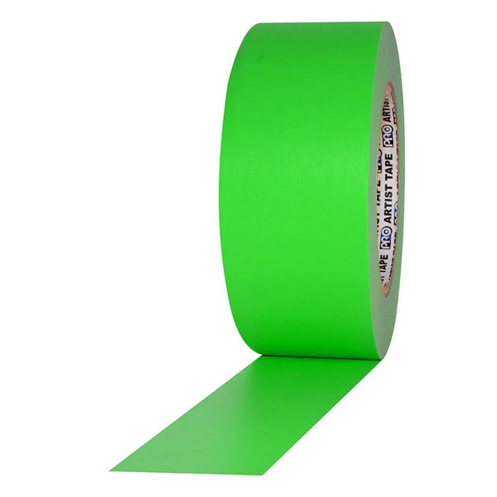Fita de Papel para Console Artist Tape Pro Tapes 48mm X 50m Verde Fluor