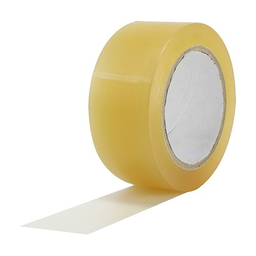 Fita de Papel para Linóleo Clear Floor Rosco 48mm X 35m Transparente  - Casa do Roadie