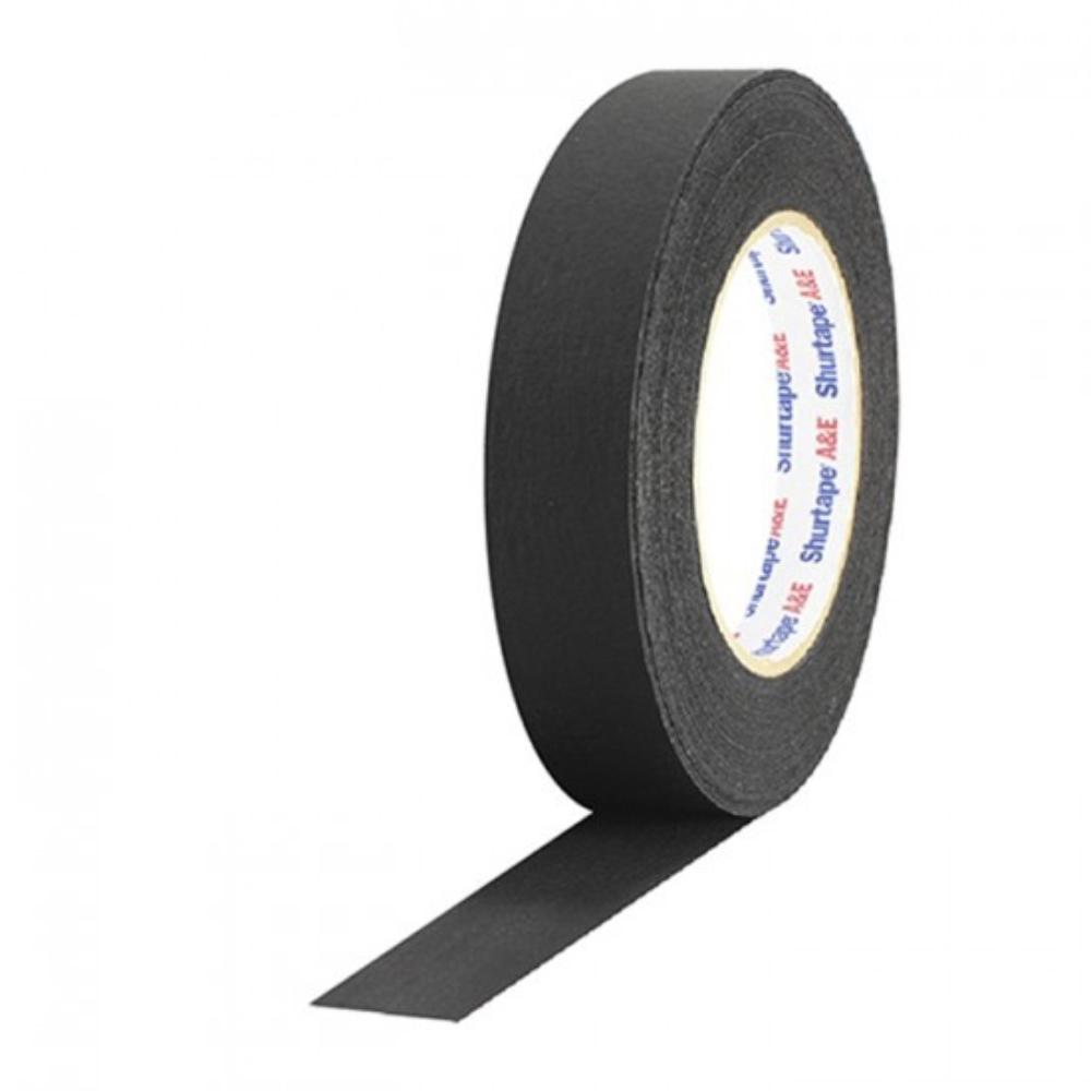Fita de Papel PhotoTape Shurtape Pro Tapes 25mm X 50m Preta  - Casa do Roadie