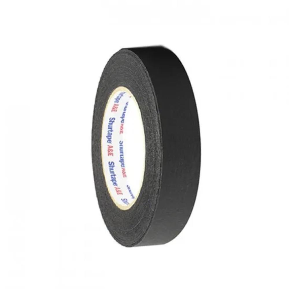 Fita de Papel PhotoTape Shurtape Pro Tapes 2,5mm X 50m Preta  - Casa do Roadie