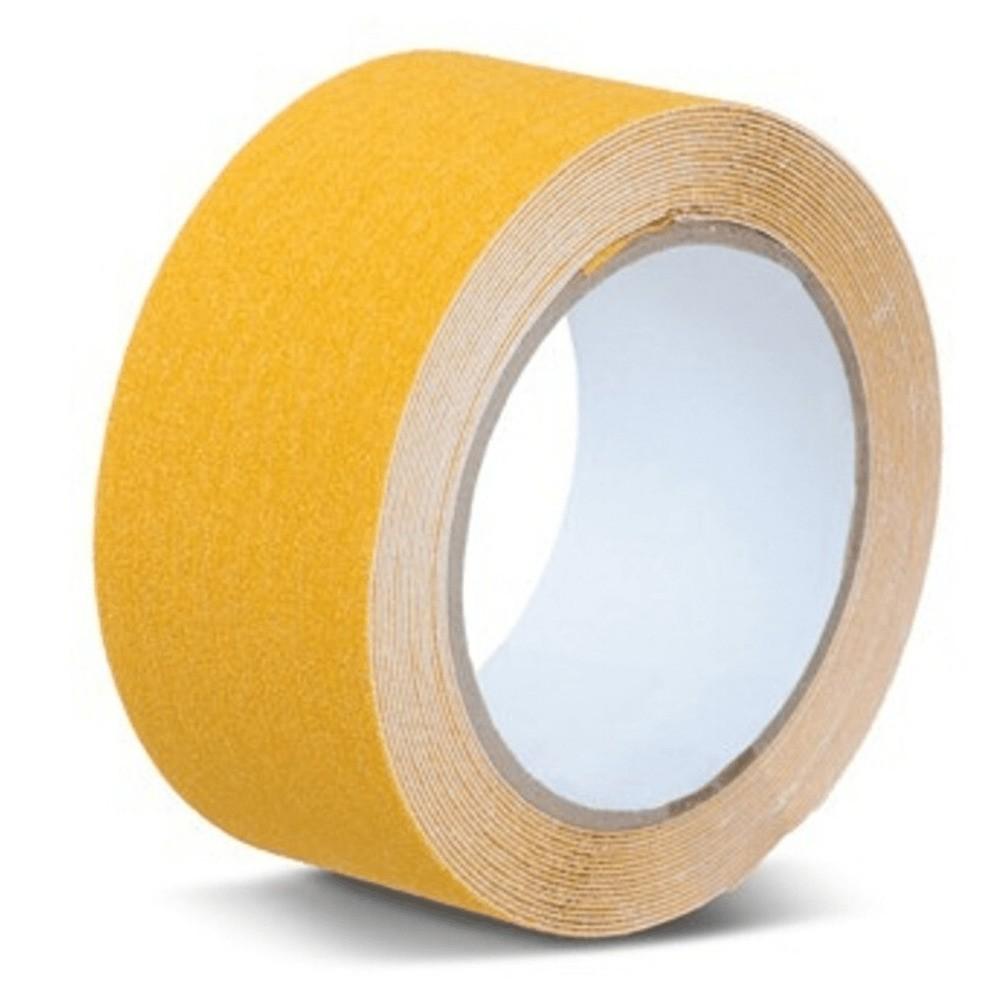Fita de PVC Antiderrapante THR 50mm X 5m Amarela  - Casa do Roadie